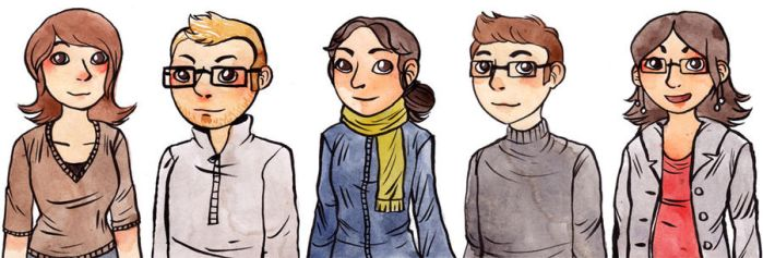 Coworkers by zelie
