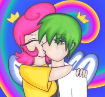 Cosmo And Wanda - Kiss Moment by Martyna-Chan