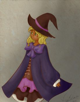 little witch by Bipee