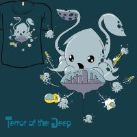 Woot Shirt - Deep Terror by fablefire