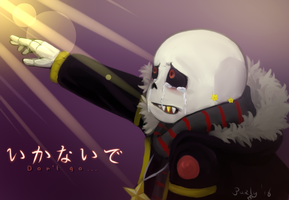 Undertale AU - Flowerfell Sans - Ikanaide by Purly