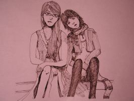Erin and Me by celina-tamwood