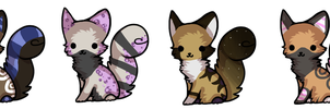 Moar Kitty Adoptables ~ OPEN by EC-Adopts