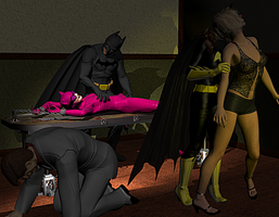 Catwoman in Peril 10 by Dracis3D