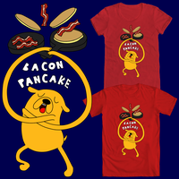 Bacon Pancakes Time! by KenChanCake