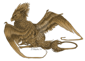 Gryphon by LadyFromEast