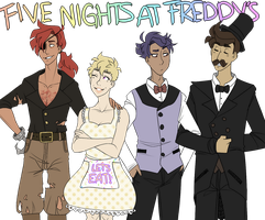 Five Nights at Freddy's by gumskull