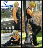 Sanji - Water 7 Cosplay by lainabug