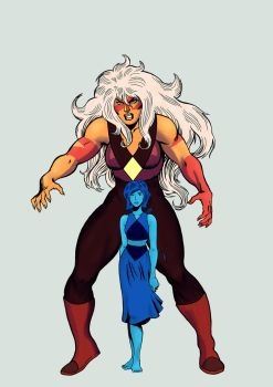 Jasper and Lapis (1) by GeovaneMonteiro