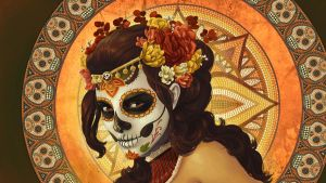 Dia de los Muertos - Wallpaper by Chronoperates