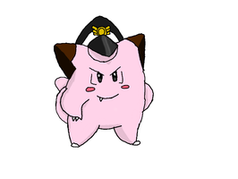 Colonel Clefairy by LunaClefairy