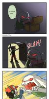 Cave Story 4koma 1 by hydrowing