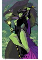Maleficent Colour by RadPencils