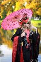 Hizaki_umbrella2 by Watarielle