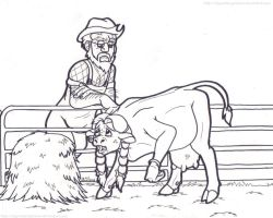 (Cow TF) 'Grandpa...why?!' by SkywalkerGirl666