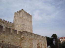 Castle Top 02 by Lusitana-Stock