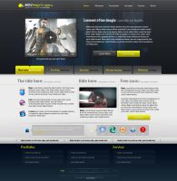 PSD templates 4 by imonedesign