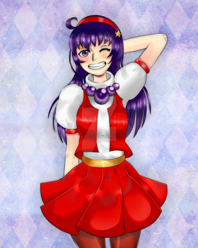 Athena Asamiya by lOvErEcoLoR