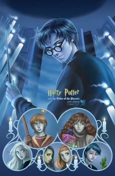 Harry Potter vol. V : OOTP by daekazu
