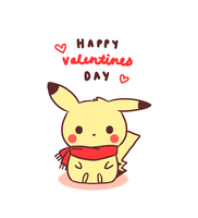 Happy Valentines Day 2014 by pikaira