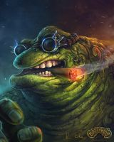 Battletoads - Rash by Kostya-PingWIN