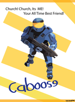 Caboose 'Its Me' by theironpaw