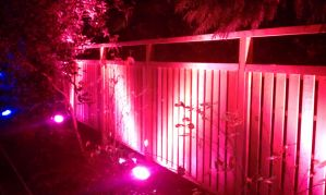Lighted Fence by TheBelfig
