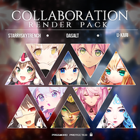 COLLABORATION RENDER PACK  -  HUGE MAY PACK|CLOSED by StarrySkyTrench