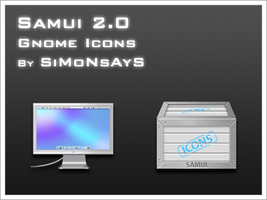 Samui 2.0 Gnome Icon Set by BioHaZaRDiNC