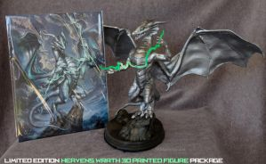 Limited Edition: Heavens Wrath 3D Print Package by The-SixthLeafClover