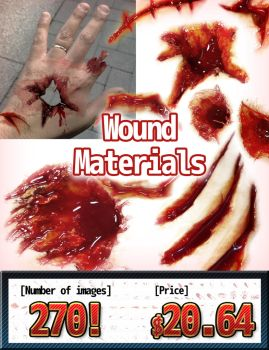Wound Materials by KickTyan
