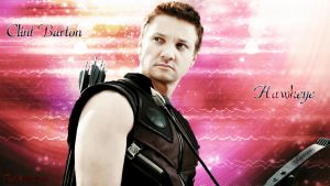 Clint Barton/Hawkeye by Lauren452