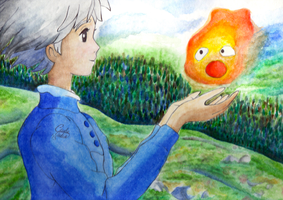 Howl's Moving Castle by GiuliaIulia
