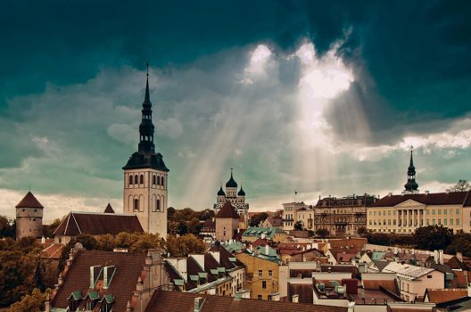 Magical old town by HendrikMandla