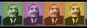 Luther King Vector by Desmemoriats