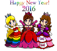 Happy New Year 2016 by PrincessArtist2009