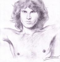Jim Morrison by StingingPistol