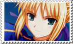 Saber Big Stamp [Fate Stay Night] by Hinatka3991