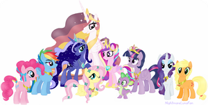My Little Pony: Friendship Is Magic (My Style) by NightmareLunaFan