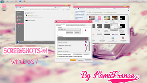 Screenshots para Windows 7 by KamiiFrance21