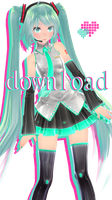 Tda Normal Miku Edit DOWNLOAD by joseph-esapa