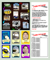 Cabin Pressure Cluedo! (Check desc. for download.) by BlackTieSociety
