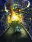 Megaman X Highway tribute by DrawingNightmare