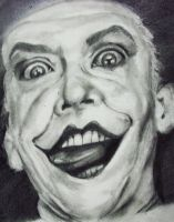 Jack Nicholson - The Joker by LoveOnAprilFools