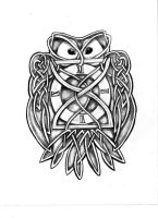 Celtic Owl by artfullycreative