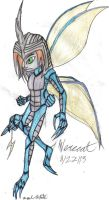 DigiHuman Kabuterimon Beetle by werecatkid17