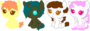 Name-Your-Price Baby Pony Adopts :GONE: by PikPik-Adoption