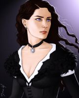 Yennefer of Vengerberg by Merwild