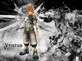 kingdom hearts birth by sleep ventus by LumenArtist