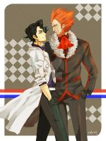 lysander  and sycamore by icedrop218